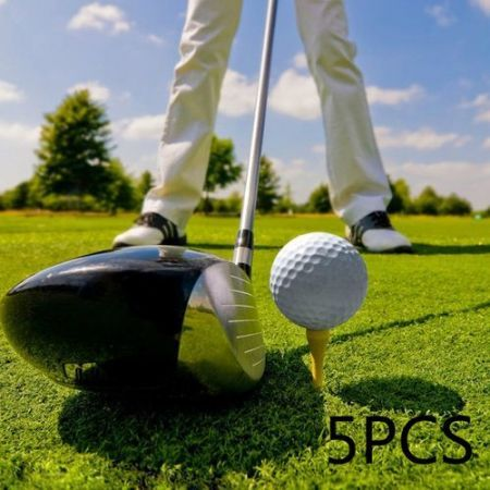 5PCS Practice Training Golf Balls Diameter 42MM