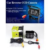 Car Rear View 18 IR LED Reversing CCD Waterproof Camera with Night Vision