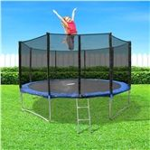Genki 14ft Trampoline with Safety Enclosure