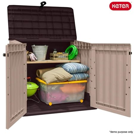 keter store it out midi outdoor storage box crazy sales. Black Bedroom Furniture Sets. Home Design Ideas