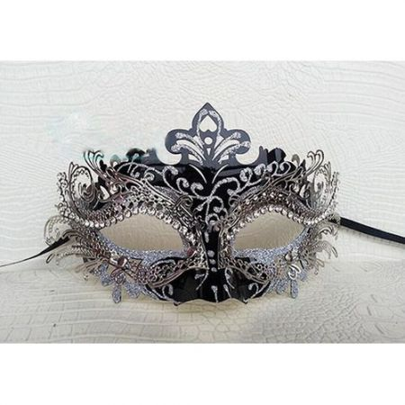 Halloween Christmas Masquerade Party Sexy Rhinestone Mask