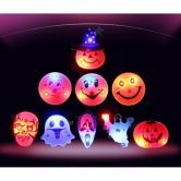 Halloween Party Shining Badge for Kids Children(10 pcs)