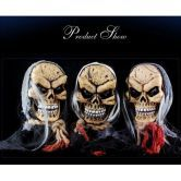 Halloween Splatterhouse Masquerade Party Bar Decoration Scary Ghost Head