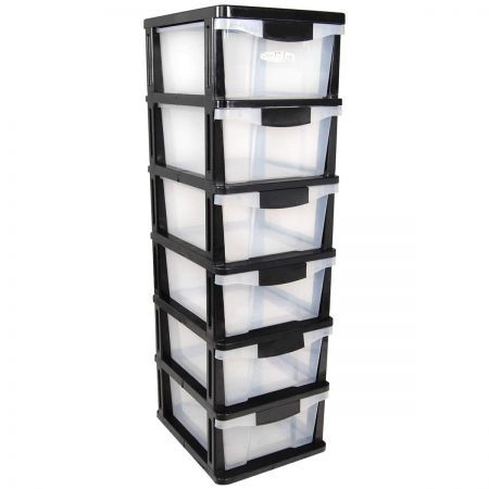 Drawers 4 Plastic Slide Shelves Crazysales Com Au