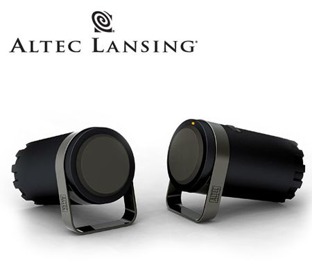 Altec Lansing BXR1220 2.0 Dual Speaker System - Black Full Range Drivers