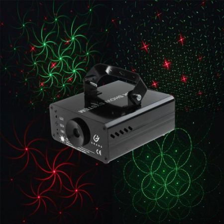 Mini Multicolor Moving Party Stage Laser Light Projector