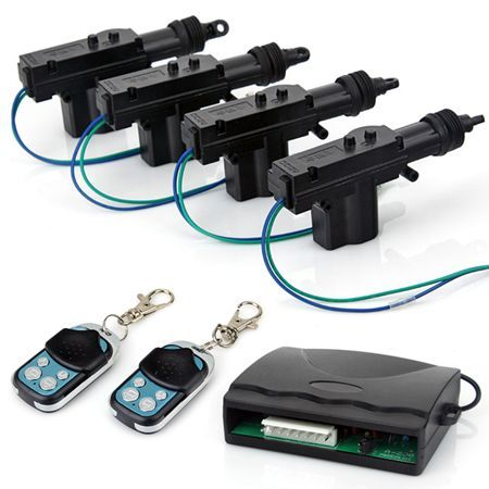 Free shipping! Remote Auto Car Control Keyless Entry Central Door Lock Locks Locking Kit System