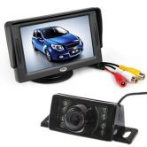 Free shipping! Car Rear View Reversing Camera Kit 4.3