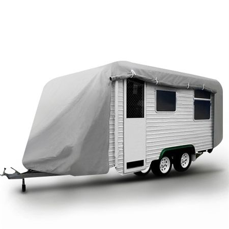 18-20FT Open Side Caravan Cover