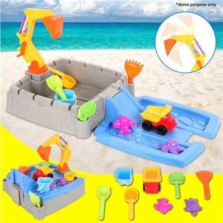 11 Piece Beach Sand Castle Building Toy | Crazy Sales