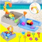 11 Piece Beach Sand Castle Building Toy