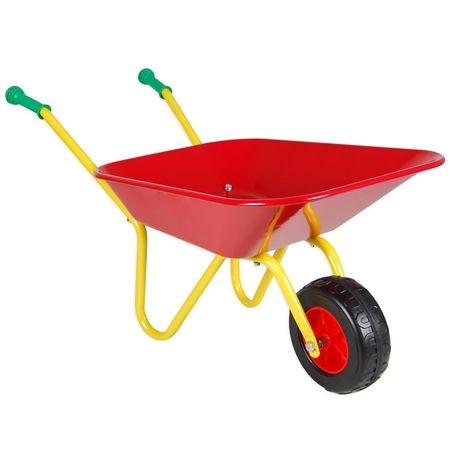 Toy Metal Wheelbarrow