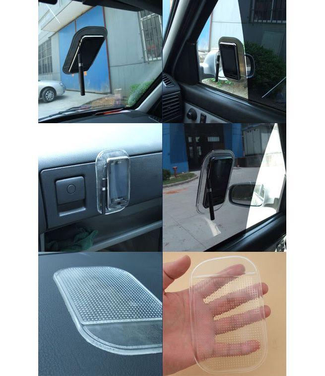Small Silica Gel Anti Slip Car Dashboard Non Slip Mat