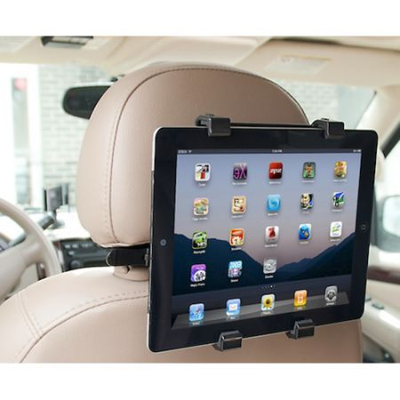 car back seat headrest mount holder kit for portable dvd. Black Bedroom Furniture Sets. Home Design Ideas