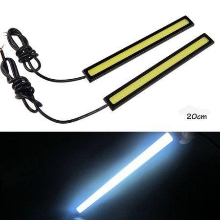 20cm SMD-5050 340-420LM Warm White 3000-3500k / Cool White 6000-6500k Light LED Strip Lamp (12V) 3204