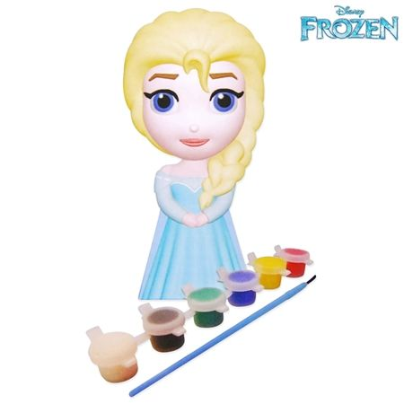 Disney Frozen Paint Your Own Elsa Make Amp Create Craft Doll
