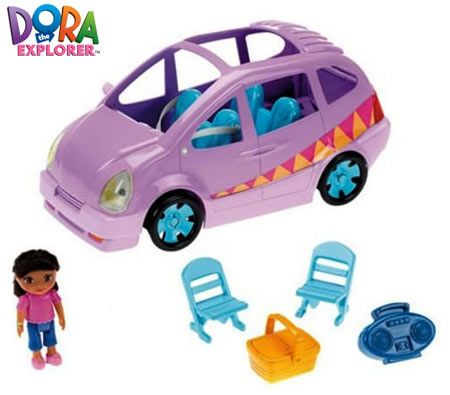 Fisher Auto Sales >> Fisher-Price Dora Toy Picnic Time Van Adventure Playset ...