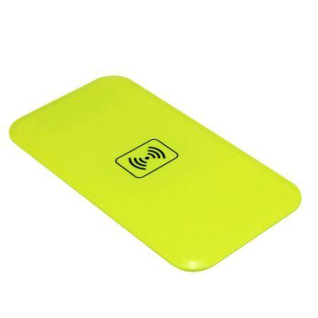 Qi Wireless Charger Transmitter Charging Pad/Mat For Nokia Lumia 920 Nexus 4/5 B - Yellow