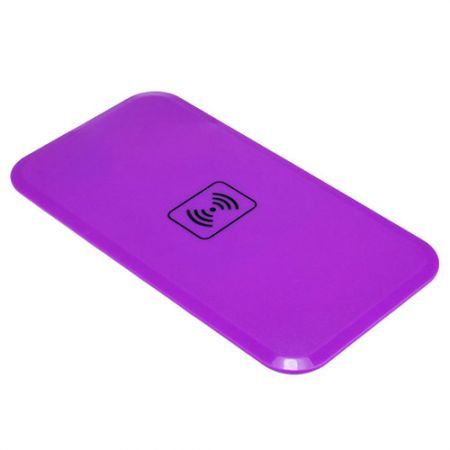 Qi Wireless Charger Transmitter Charging Pad/Mat For Nokia Lumia 920 Nexus 4/5 B - Purple