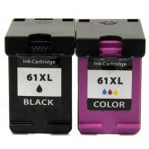 2x Ink Cartridge HP 61Xl for Hp Deskjet 1000 1050 2000 2050 3000 J110a printer