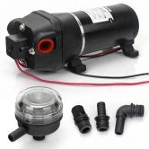 Water Pressure Pump 12v 17 l/min 40 PSI