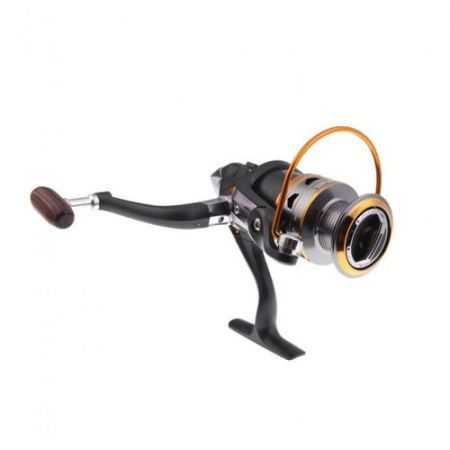11BB Ball Bearings Left/Right Interchangeable Collapsible Handle Fishing Spinning Reel DK3000 5.2:1