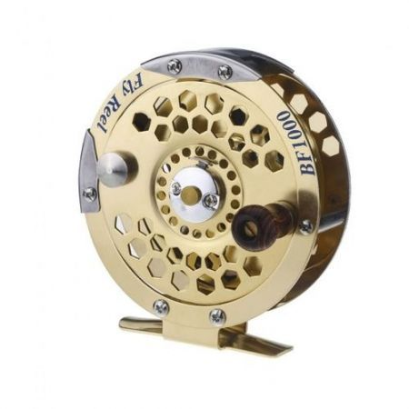 Full Metal Fly Fish Reel Former Ice Fishing Vessel Wheel BF1000A 0.5mm/500m 1:1