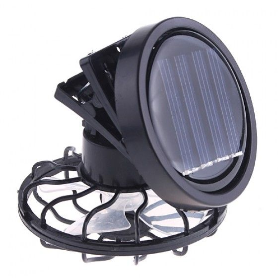 solar powered cooling fan for hats caps sales