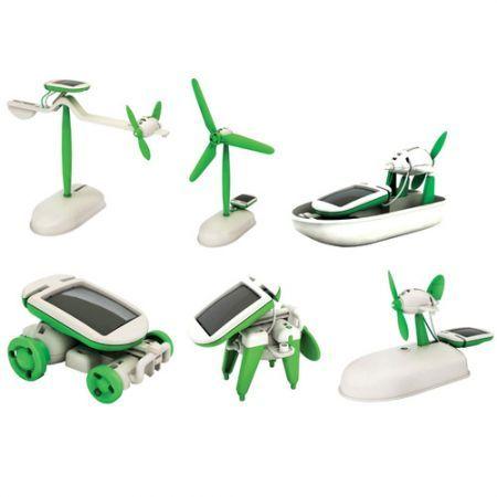 Solar Powered Toys Educational DIY Kit Set (6-Model)