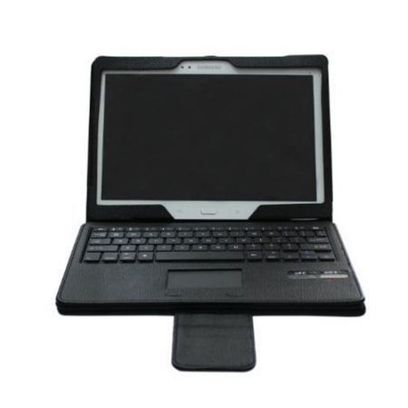 Bluetooth Keyboard Case + Touchpad For Samsung Galaxy Tab S 10.5 SM-T800  - Black
