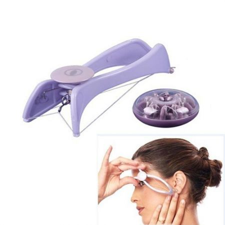 LUD Slique Facial Body Hair Threading Removal Epilator System