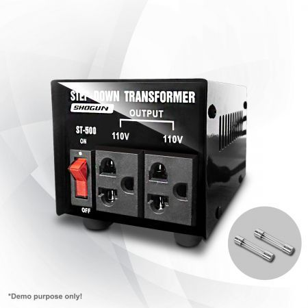500W Step Down Transformer/Voltage Converter