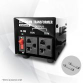 200W Step Down Transformer/Voltage Converter