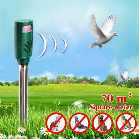 ultrasonic bird repellent crazy sales