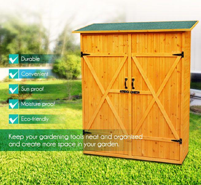 Wooden Garden Toolshed Bestdeals Co Nz
