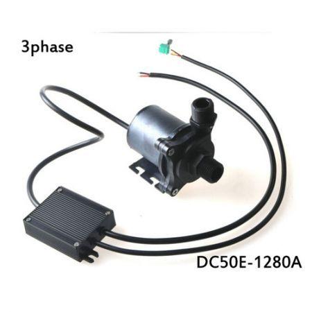 DC50E 1280A 12V Mini Brushless Water Pump High Lift Smart Toilet Water  Circulating Pump Bathroom Turbo Pump Max Flow Rate 1000 L/H