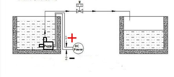 DC50F-2480T 24V Mini Brushless Water Pump Low Pressure Booster Pump Water  Circulation Pump Auto Heat Pump Submersible Pump Max Flow Rate 1000 L/H