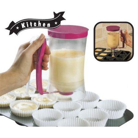 Cupcake Batter Dispenser Pancake Cookie Cake Muffins Batter Dispenser