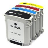 4x Compatible Ink Cartridge for HP 940XL OfficeJet Pro 8000 8500 8500A wireless Printer
