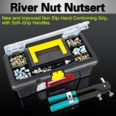 1064 Piece Blind Rivet Nut Rivnut Nutsert Insert Tool Rivnuts Set Kit M3 to M8