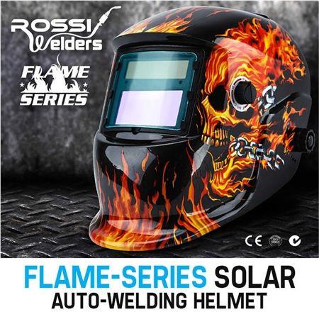 Flame Series Solar Auto Welding Helmet Crazy Sales