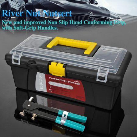 464 PC Blind Rivet Nut Nutsert Insert Tool Kit M3 To M8 Rivet Set