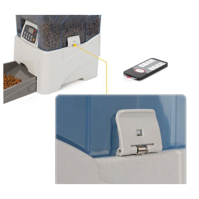 Pf 21b Remote Controlled Automatic Pet Feeder Programmable