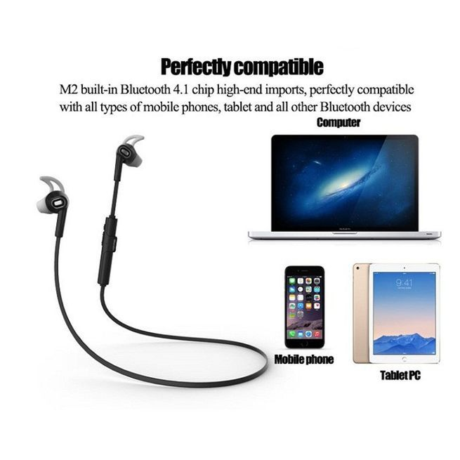 bluedio m2 bluetooth wireless sports stereo headset white crazy sales. Black Bedroom Furniture Sets. Home Design Ideas