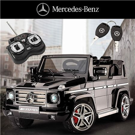 Kids ride on car mercedes benz amg g55 crazy sales for Mercedes benz ride on
