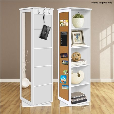 Nice 5 Compartment Cubed Swivel Storage Cabinet