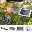 2.5W Solar Powered Air Oxygenating Pond Pump