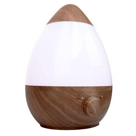 Ultrasonic Cool Mist Air Humidifier 2.3L Dark Wood