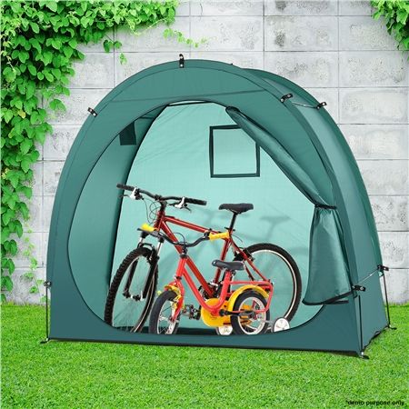 Green Waterproof Bike Storage Tent