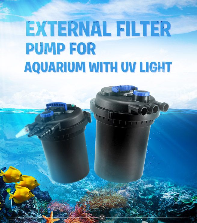 External aquarium fish tank water filter online shopping for Spring water for fish tank